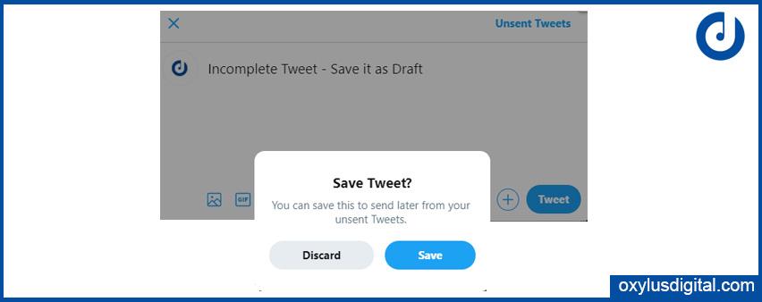 Save Tweet