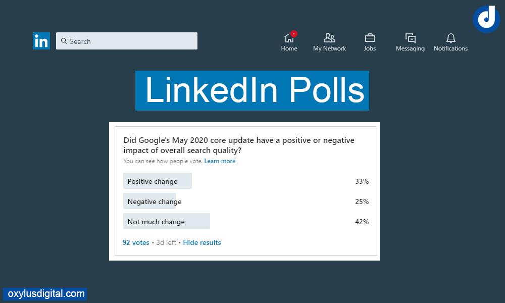 How to Create LinkedIn Polls