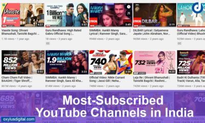 Most-Subscribed YouTube Channels in India