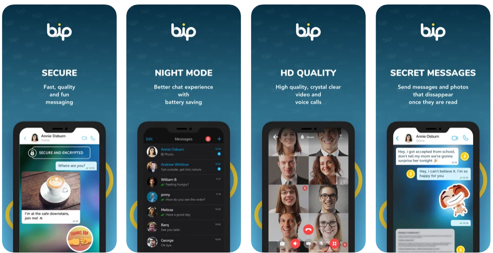 BiP – Messaging, Voice and Video Calling App