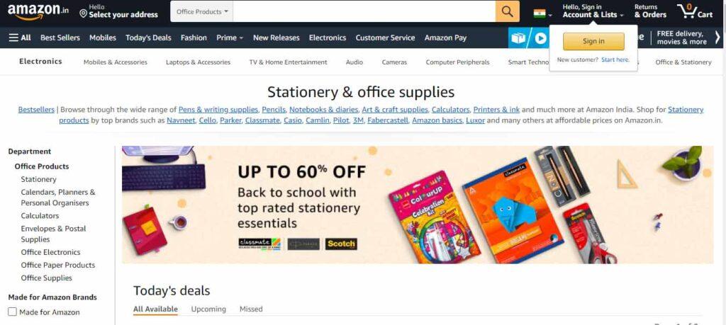 Amazon Office Supplies
