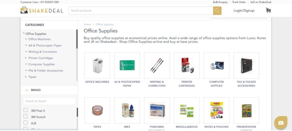 ShakeDeal Office Supplies
