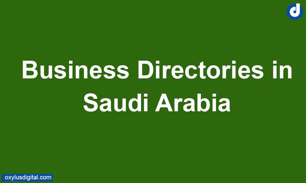 Business Directories in Saudi Arabia