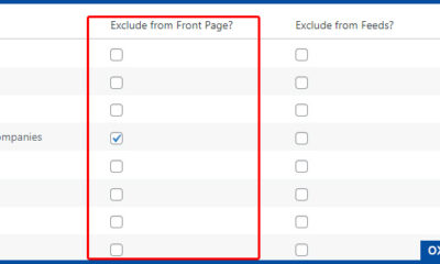 Exclude Category Posts from Home Page